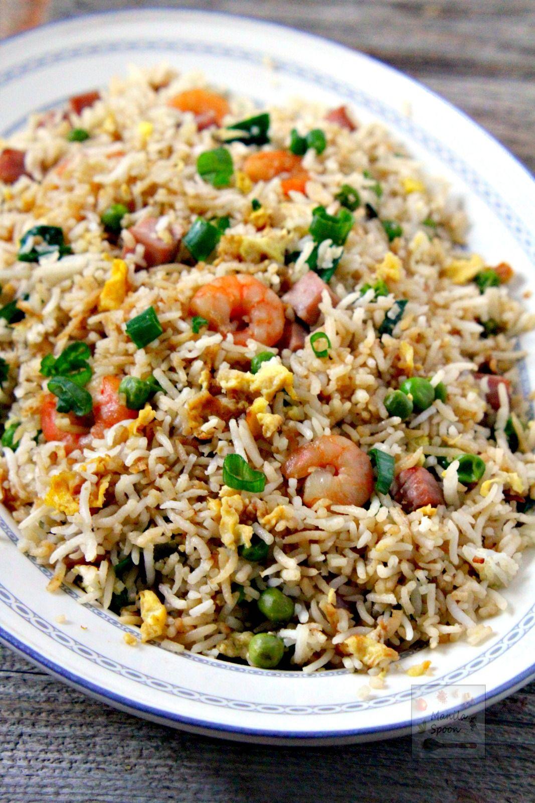 Manila Spoon Special Fried Rice Fried Rice Fried Rice Easy Special Fried Rice