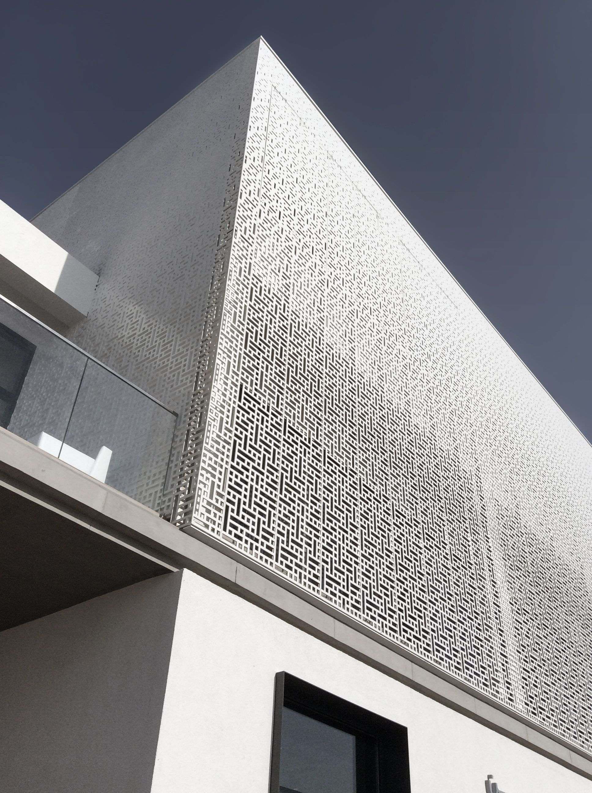 Marassi al bahrain sales center modern architecture pattern