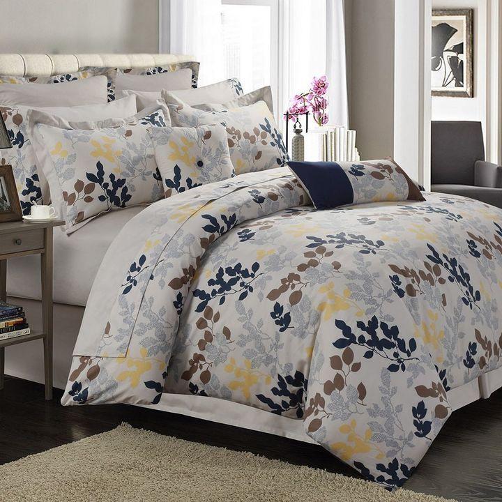 Barcelona Egyptian Cotton 12-piece Bed Set. Bedroom, sheets, shams ...