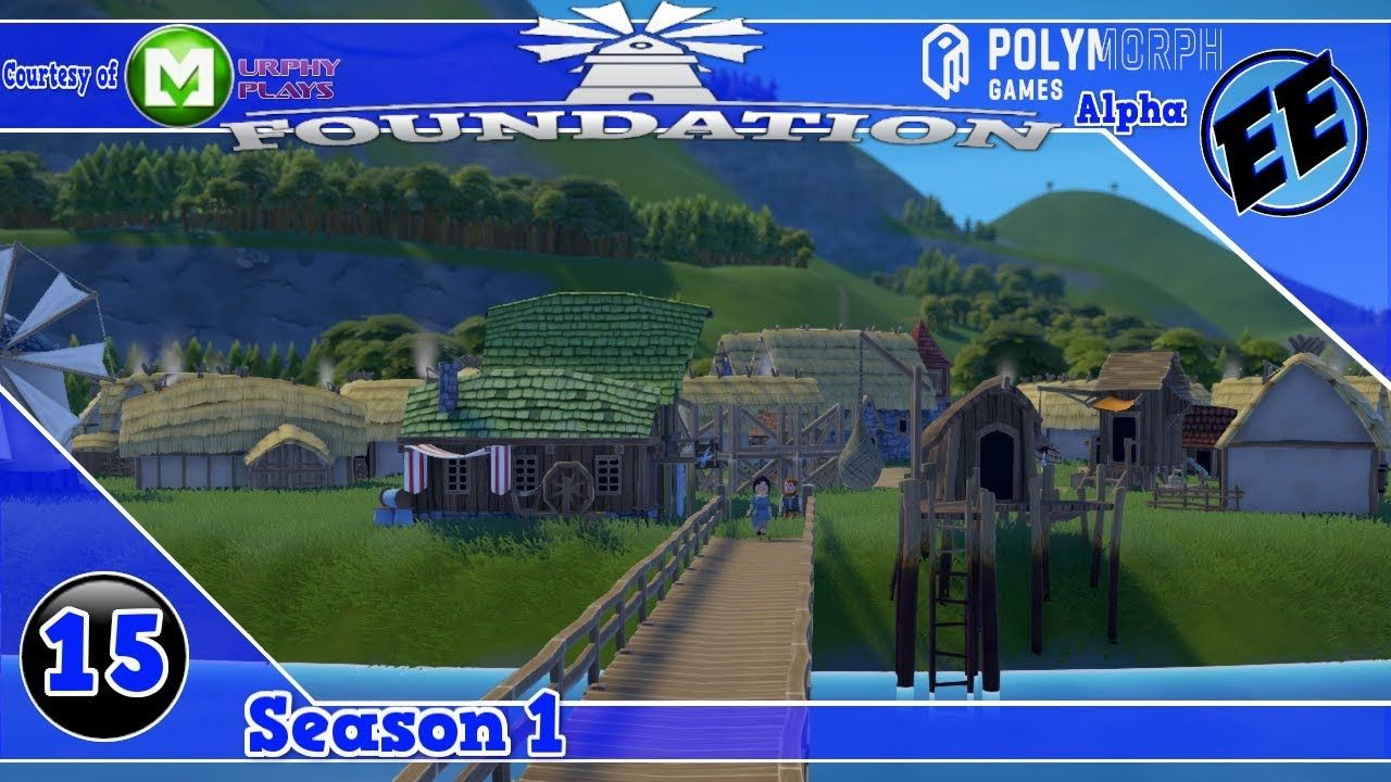 Foundation Alpha The Manor Shrubbery S1 Ep15 Polymorph Games Foundationgame Foundation Https Youtu Be Fjkhn Game Engine Simulation Games Foundation