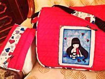 Bolso exclusivo hecho a mano, diseño propio. Hand made bag, my own design