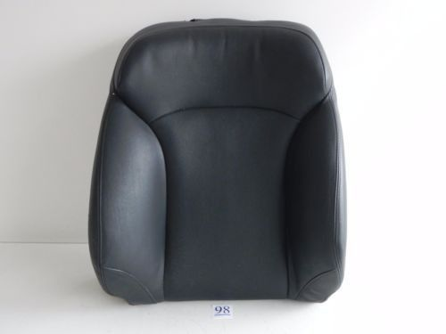 2007 LEXUS IS250 IS350 FRONT SEAT BACK COVER LEATHER RIGHT PASSENGER OEM 642 #98