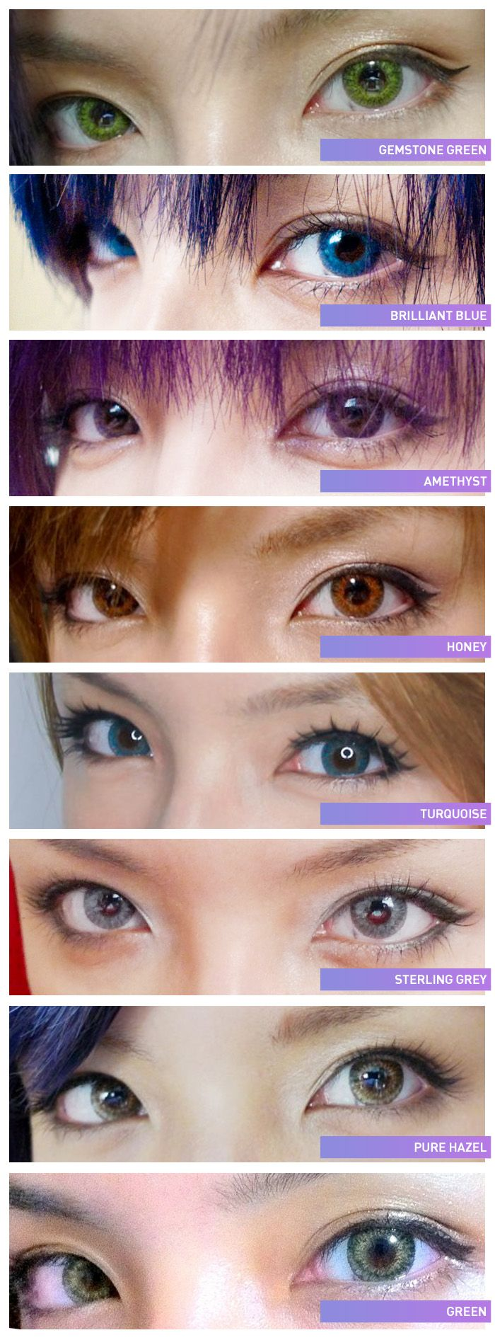 FreshLook ColorBlends colored contacts provide a unique 3 ...