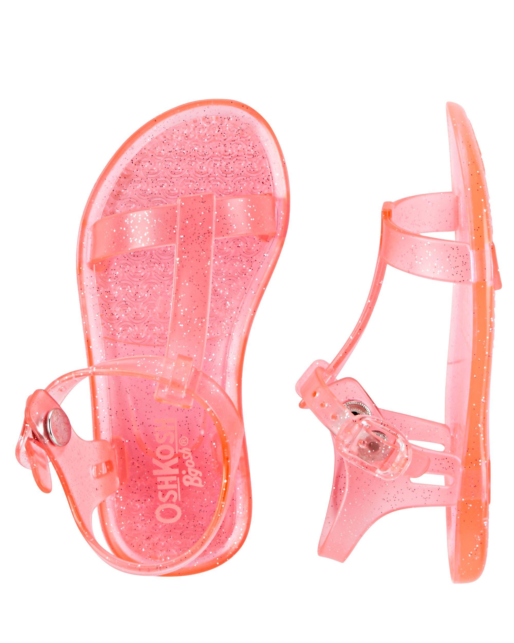 OshKosh Sparkle Jelly Sandals