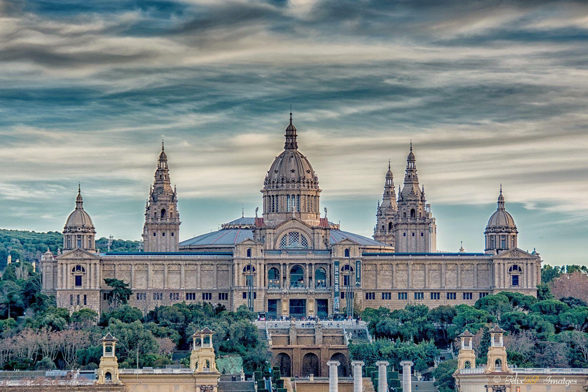 Mnac museu nacional dart de catalunya en montjuic