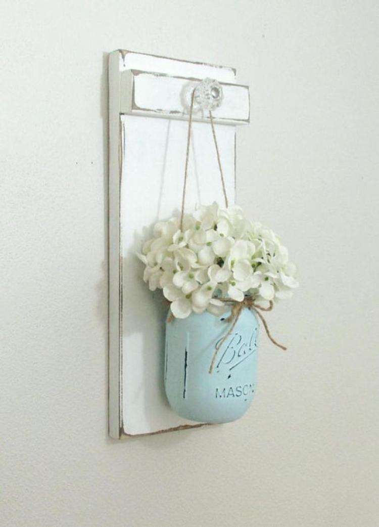 90+ Classy Hanging Mason Jar Sconces Decorations Ideas images
