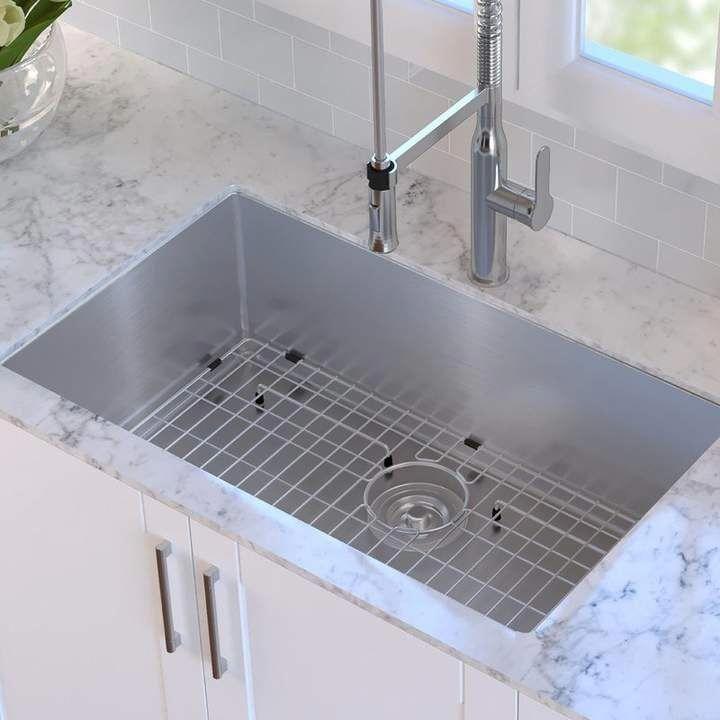 Kraus 32 l x 19 w undermount kitchen sink kitchensink