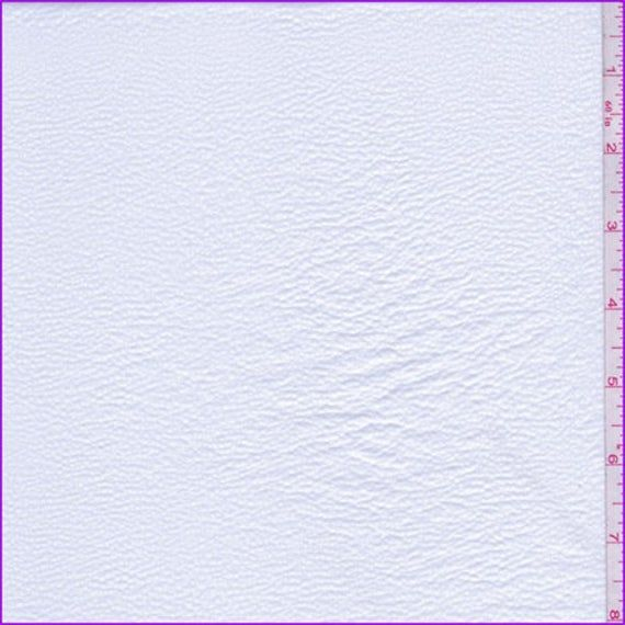 Photo of Whisper White Pleather Look Knit, tessuto di The Yard