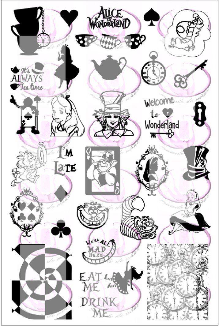 Alice in Wonderland *NEW* - Nail-Artisan UK