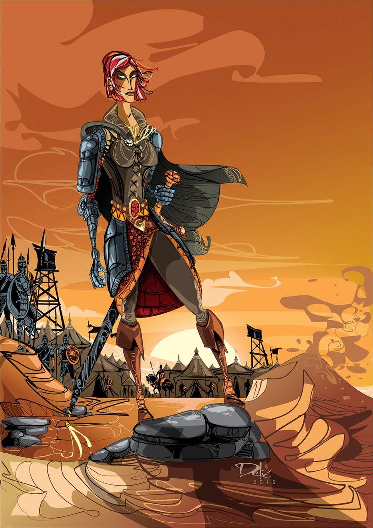 Tavore Paran By Dejandelic On Deviantart #fantasy #malazan