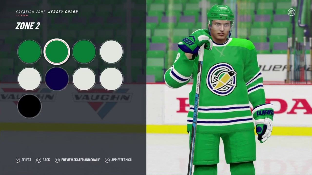 da0908720ef NHL 19 - How to Create the Oakland Seals - YouTube Brewzer - How to create  the Oakland Seals in NHL 19. Create a Team! One of the most popular create  a ...