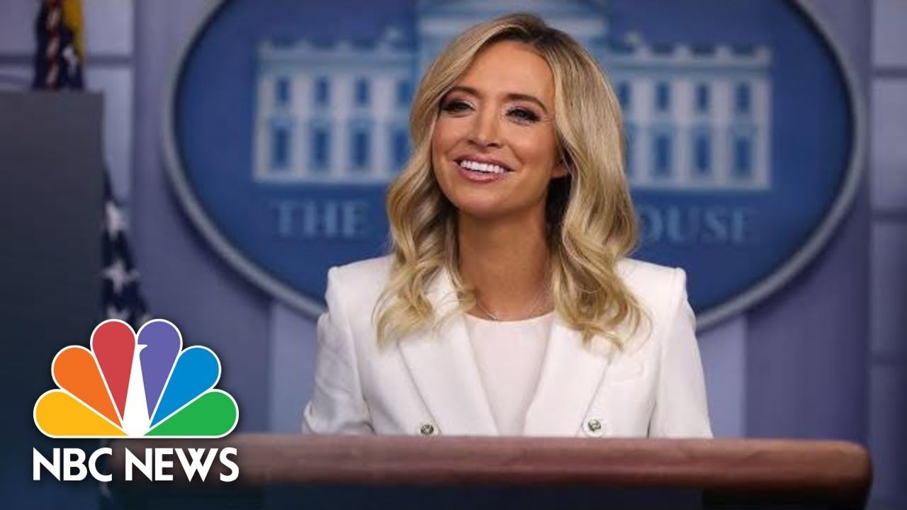 Live White House Holds Press Briefing Nbc News In 2020 Nbc News Nbc Nbc Nightly News