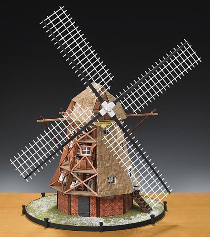 amati dutch windmill 30th scale quality wooden model kit models pinterest. Black Bedroom Furniture Sets. Home Design Ideas