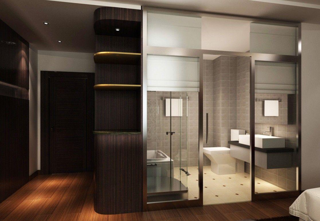 Master Bathroom Closet Combo Closet And Bathroom Green Elegant Bathroom Interior Design Bathroom Green Bathroom Bathroom Interior Design Closet Remodel