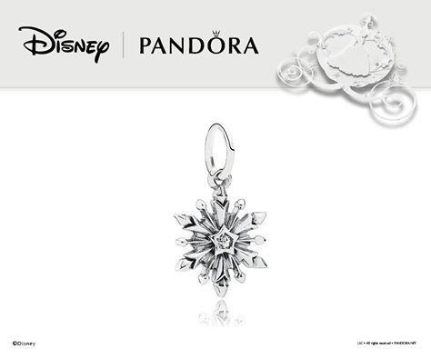 pandora disney frozen snowflake charm