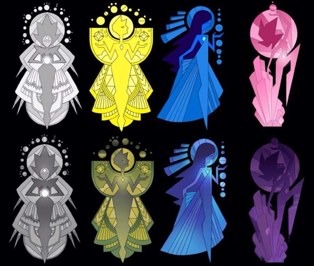 Image result for steven universe white diamond steven for Yellow diamond mural