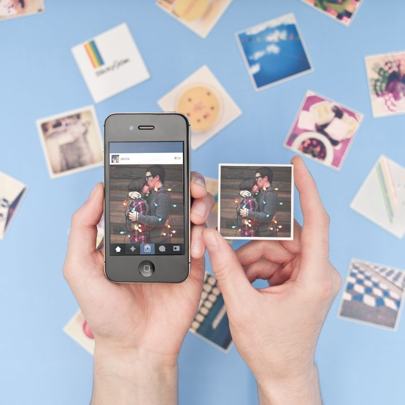 how to order instagram photos