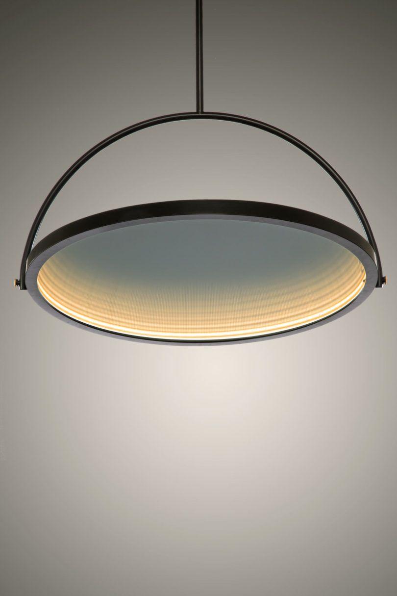 OBLIO: A Mirror Turned Lamp, a Lamp Turned Mirror - Design Milk