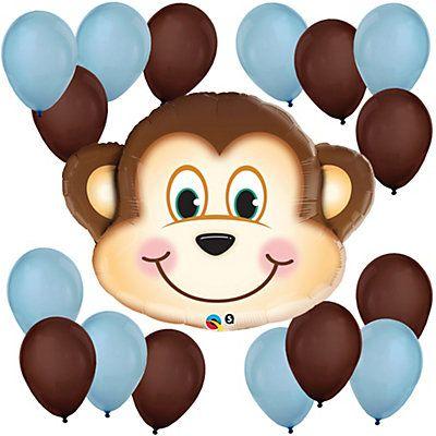 "41/"" Happy Birthday Circus Elephant Mylar Foil Balloon Baby Shower Supplies"