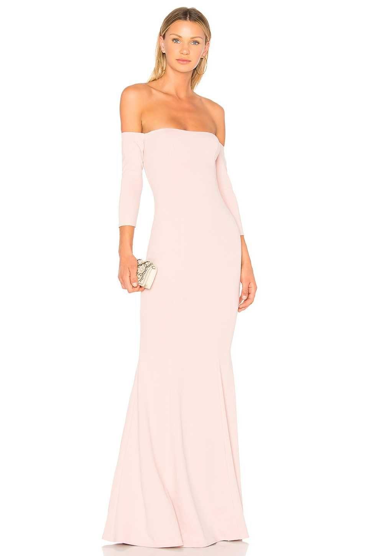 online retailer 7752e e2b0e Off-Shoulder Kleid 2018 Abendkleider Lang Damenmode ...