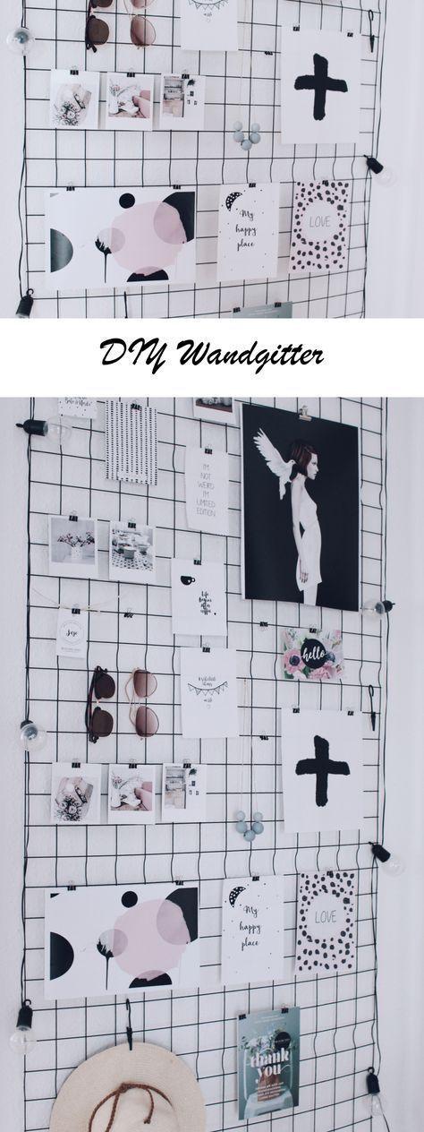 DIY Wandgitter selber machen - Wozu ein Estrichgitter auch noch gut ist - Boho and Nordic   DIY & Interior Blog #machesselbst–diy