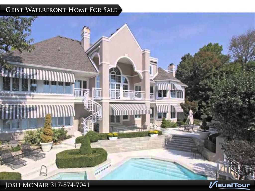Geist Reservoir Mansions Million Dollar Luxury Waterfront Homes Waterfront Homes For Sale Mansions Waterfront Homes