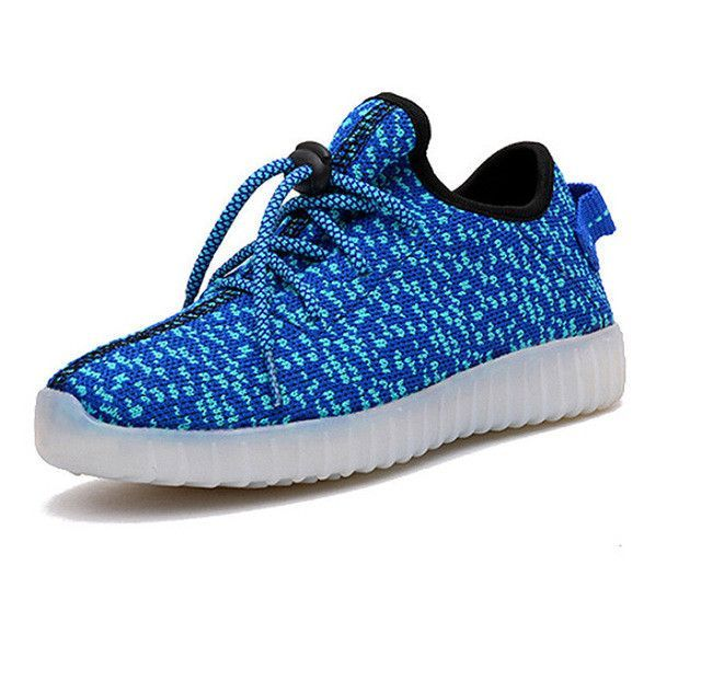 kids shoes girls boys shoes LED kids light up shoes children sneakers 7  colors USB charging
