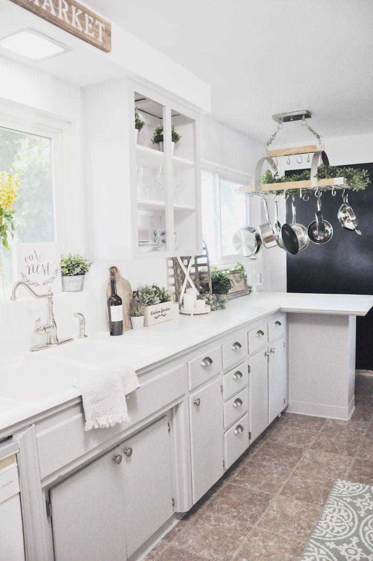 budget farmhouse kitchen remodel reveal farmhouse kitchen remodel rh pinterest com