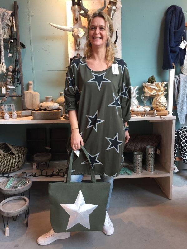 a512fb557de Tuniek stars green | sale yess-style | Pinterest