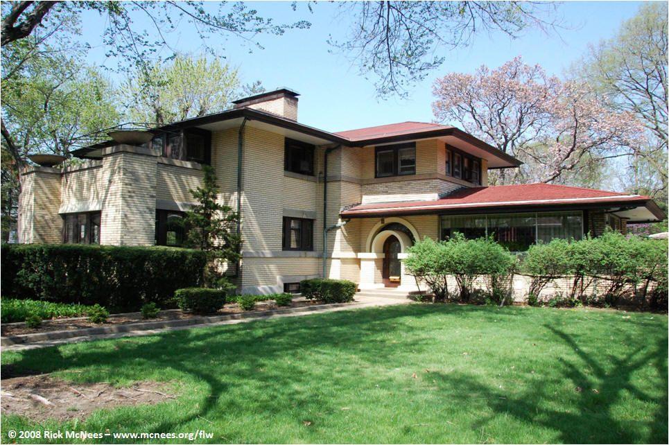 Frank Lloyd Wright Amp Prairie School Architecture Photo Gallery