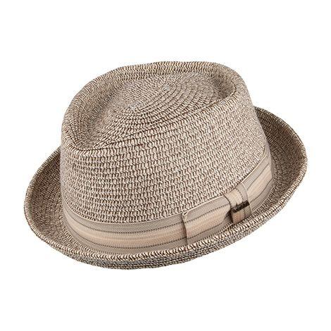 96e6b03a0 Scala Hats Diamond Crown Pork Pie Hat - Brown in 2019 | Hats | Hats ...