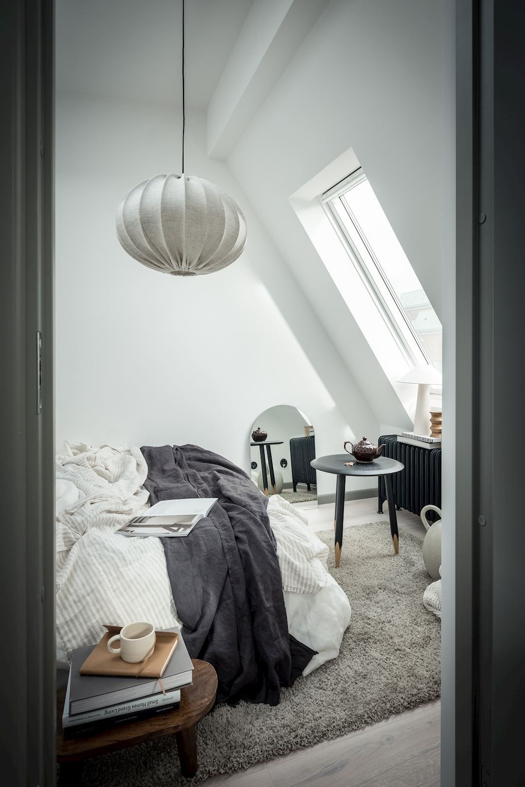 Photo of Stylish attic home