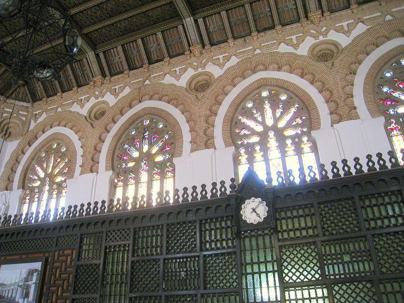 Estación de Toledo. 1919 . Obra del arquitecto Narciso Clavería. De estilo neomudéjar  - Wikipedia, la enciclopedia libre. Daderot - Trabajo propio