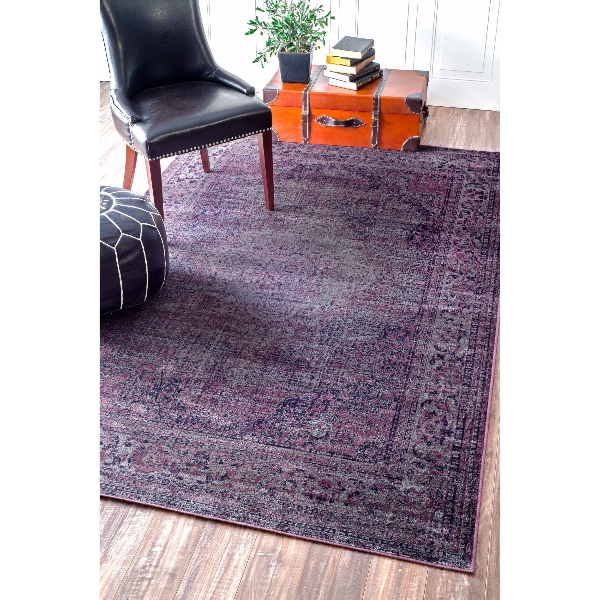 Apartments · This Vintage Style Viscose Rug ...