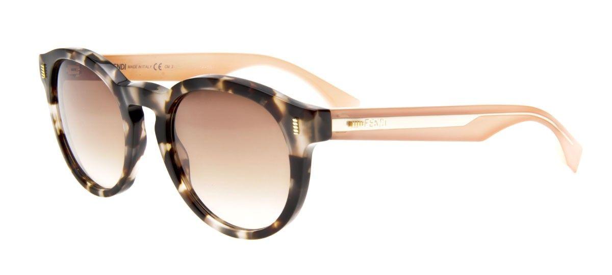 Fendi Ff0085 S Gatinho Lente Degrade Bege Modelos De Oculos