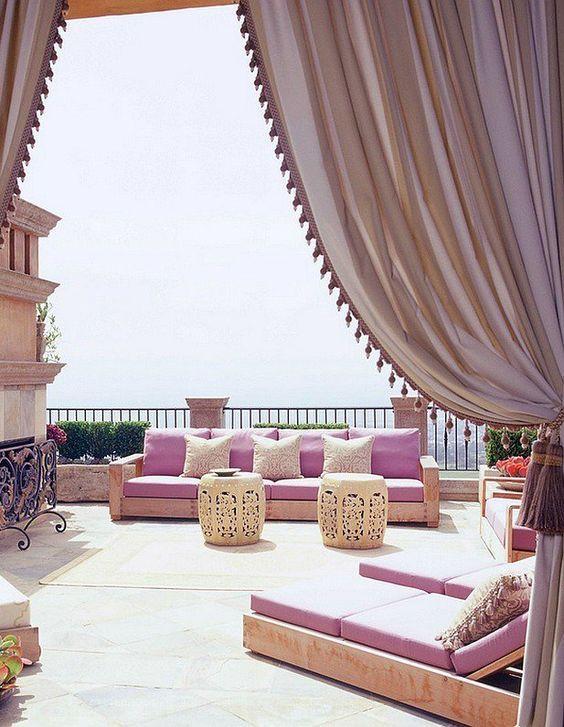 Terrasse – terasse design – terrasse style marocain | Terrace - Roof ...
