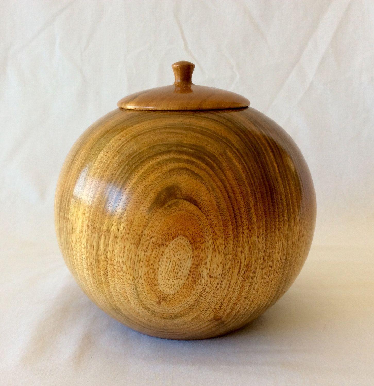 Cremation urn, pet cremation urn, wooden pet urn, wood