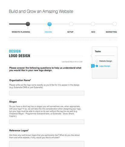 Logo Questionnaire | Gutensite - Best Website Design and CMS ...