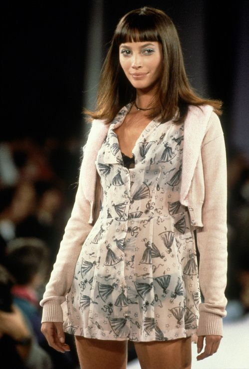 Christy Turlington in 30 unforgettable shows