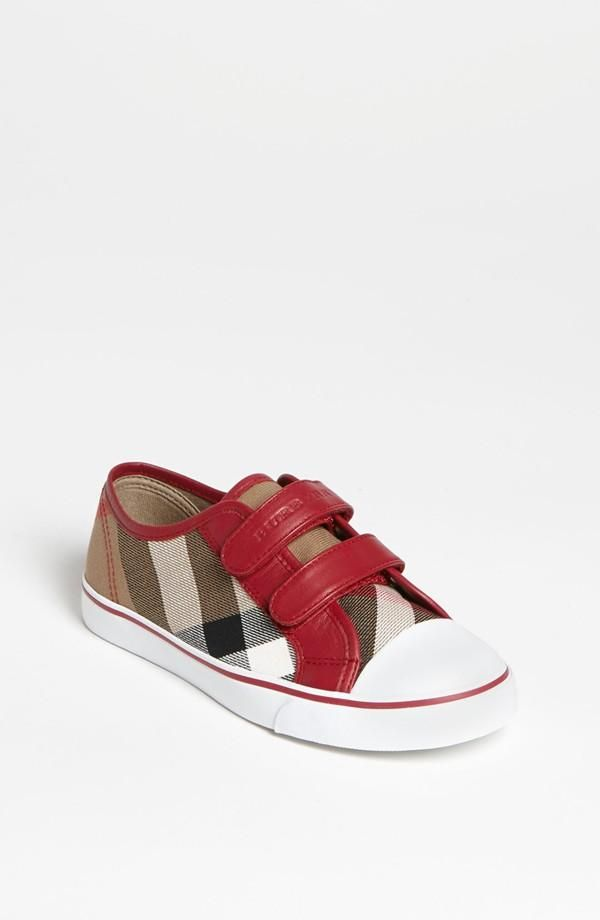 b1ded1c674c6 Adorable! Burberry sneakers for kids.