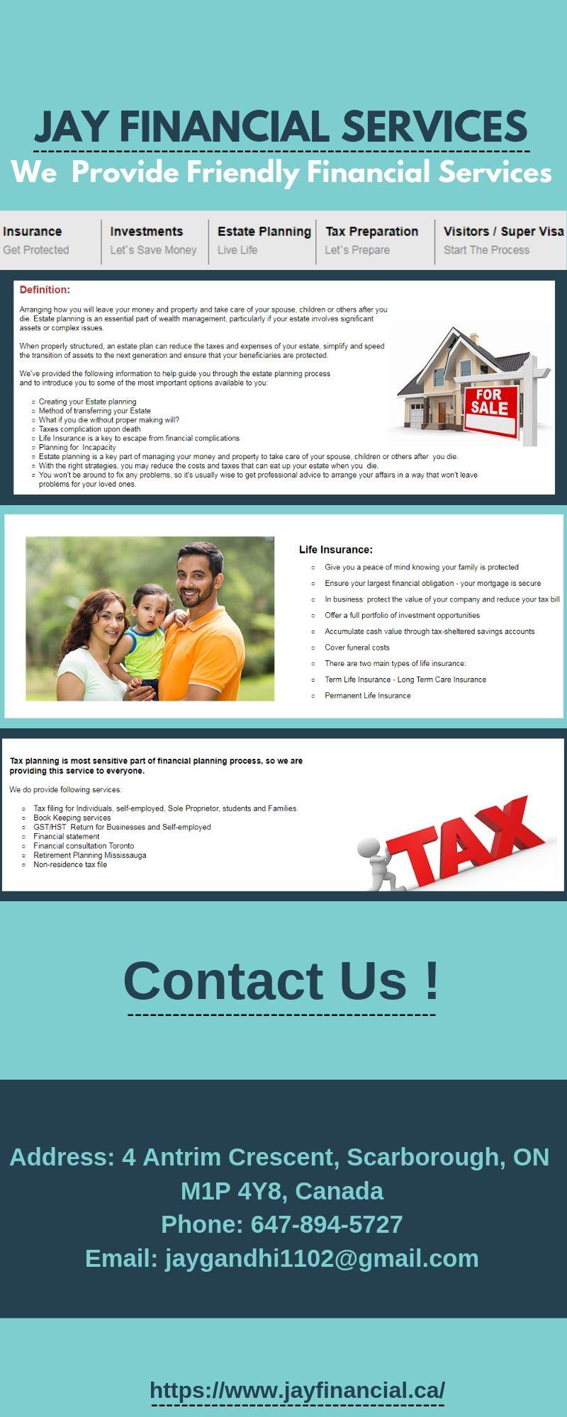 Jay Financial Services Insurance investments, Dental