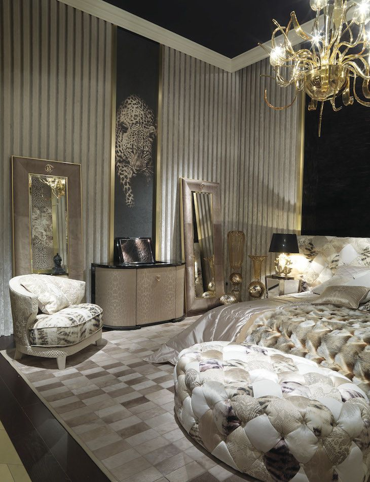 48c3366f91568 Roberto Cavalli Home   Home   Pinterest   Bedroom, Luxury bedroom ...