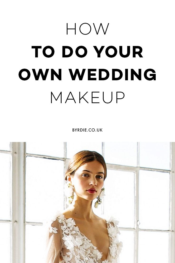 Doing Your Own Wedding-Day Makeup? You Need to Read This  Wedding