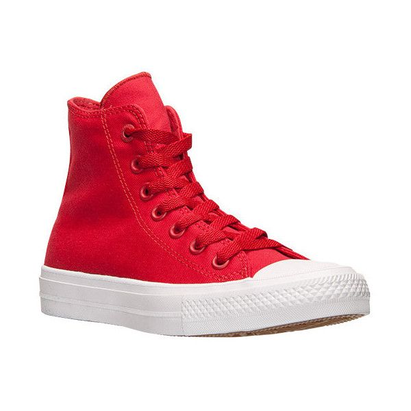 Women's Converse Chuck Taylor II Hi Casual Shoes ($75) ❤ liked on Polyvore  featuring