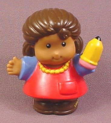 Cool Fisher Price Little People 2004 African American Kathleen Teacher Short Hairstyles For Black Women Fulllsitofus