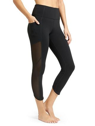 e3a098112562a Mesh panel leggings in tall size | Women's Tall Activewear | Pilates ...