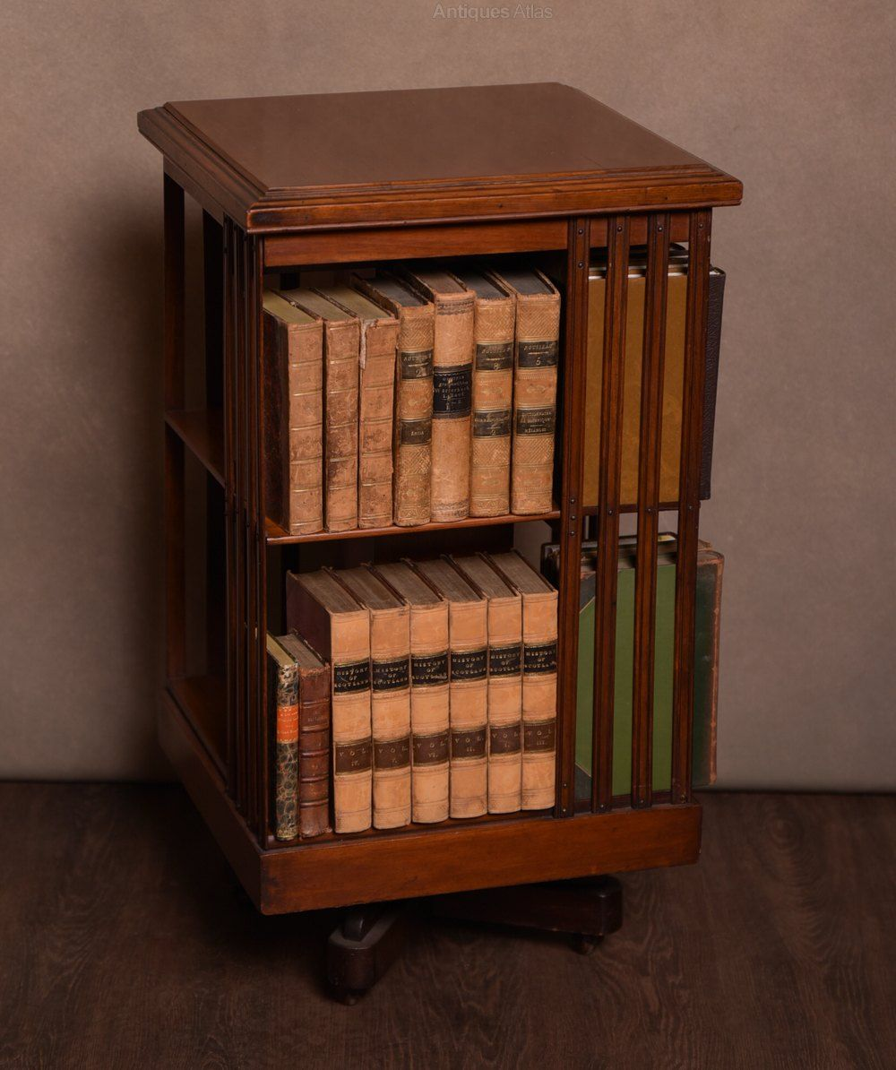 18++ Arts and crafts revolving bookcase information