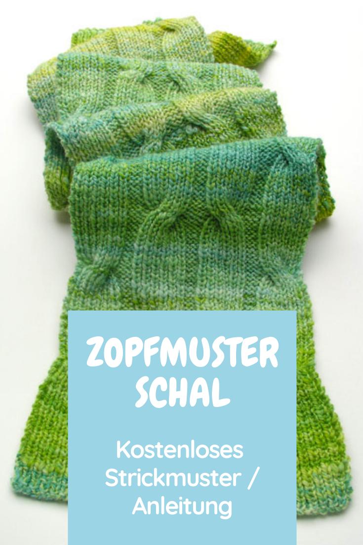 Photo of KOSTENLOS: Criss Cross Zopfmusterschal