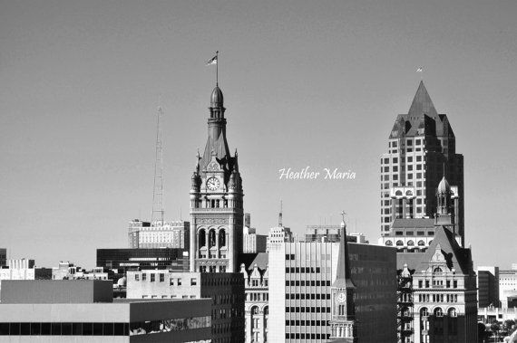 Historic Downtown Milwaukee WI Cityscapes 2 by HeatherMariaPhotos
