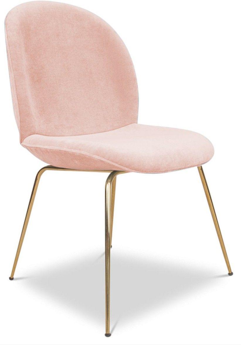 Fabulous Sleek Gold Legs And A Petal Shaped Seat Make This Velvet Dailytribune Chair Design For Home Dailytribuneorg